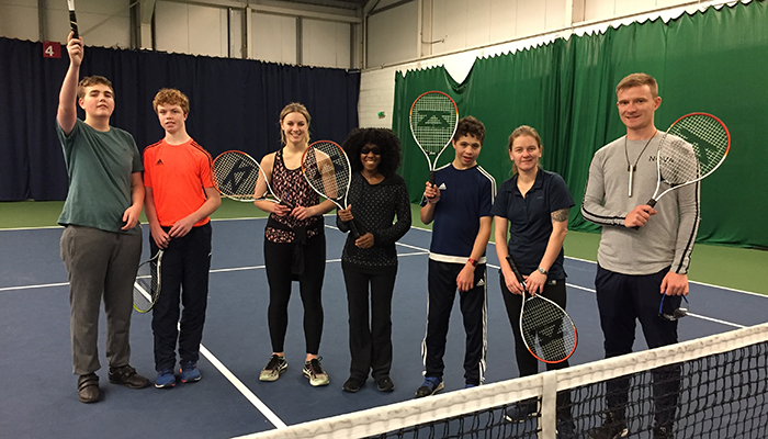 Bristol on the ball: New tennis sessions for the visually impaired