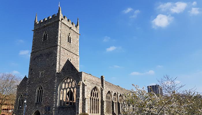 St Peter's Church, Castle Park