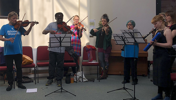 Orchestra for recovering addicts debut performance in Bristol