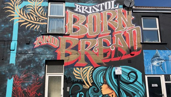 Bristol takes top spot as UK's most artistic city 2019